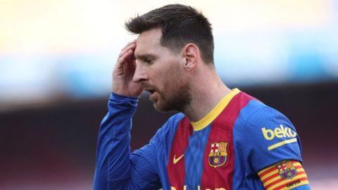 Lionel Messi, fuera del Barcelona