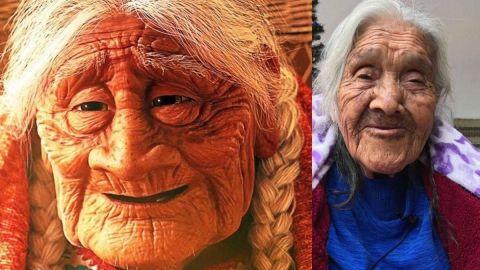 ¡Mamá COCO es real! Vive en Michoacán y tiene 107 años