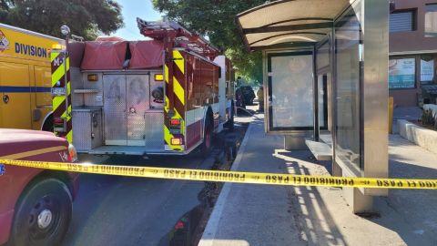 Accidentalmente se mezclaron químicos peligrosos en el bulevar Sánchez Taboada