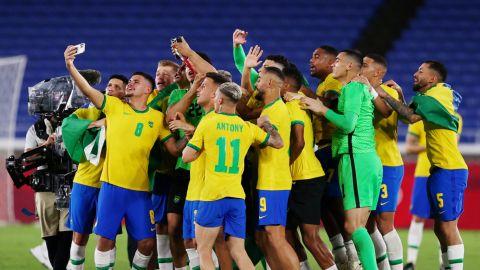 ¡El 'Scratch', du oro! Brasil, bicampeón olímpico en futbol