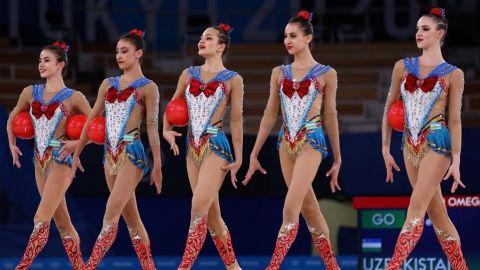 Rutina de equipo de gimnasia rítmica al ritmo de Sailor Moon maravilló en Tokio
