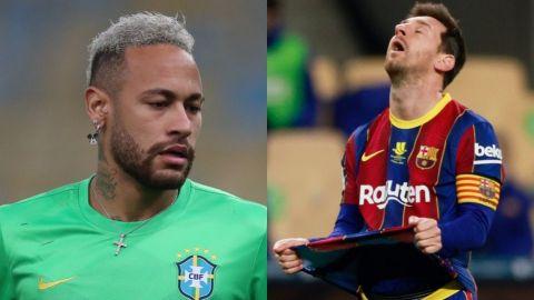 Neymar habría ofrecido el '10' a Messi en PSG pero el argentino lo rechazó