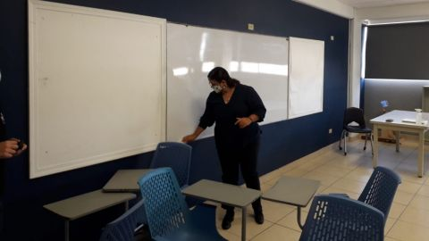 VIDEO: Alumnos de bachillerato regresaron a clases presenciales en Tijuana