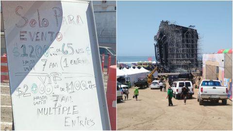 ¿Quieres un lugar de estacionamiento en Baja Beach Fest? Esto debes de pagar