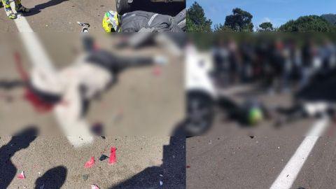 🎥🔞 ''Veníamos echando carreritas'', dice motociclista que venía a 250km/h