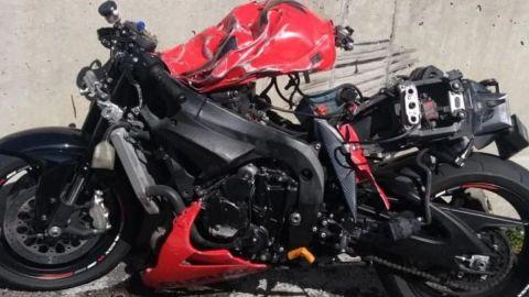 🎥'Danna, por favor respira': El trágico accidente dejó 7 motociclistas muertos
