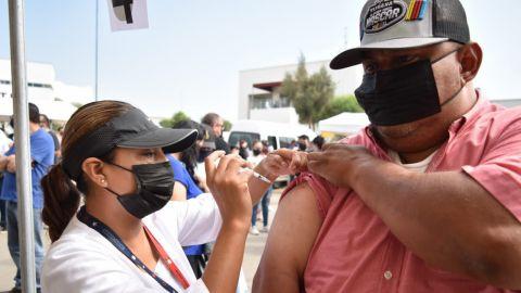 Sigue vacunación anti-covid 19 en Baja California este martes