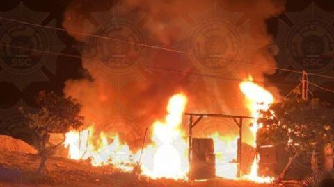 Se incendió una casa en Villa Bonita; no hubo pérdidas humanas