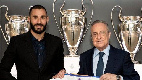 Benzema renueva contrato con el Real Madrid