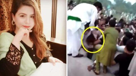 Tiktoker es desnudada y agredida por 400 hombres en Pakistán