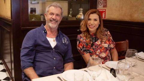 Se reúne Marina del Pilar con Mel Gibson