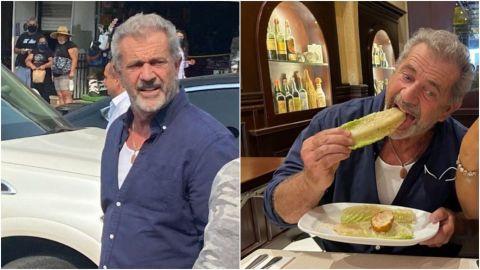 Mel Gibson de visita en Tijuana