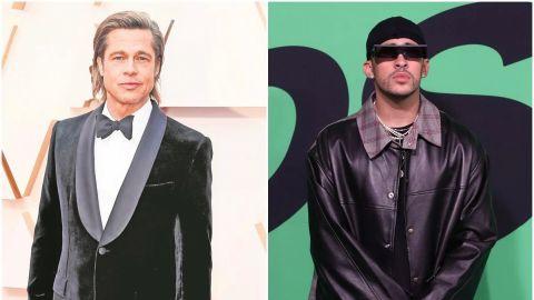 Bad Bunny y Brad Pitt se pelean en las primeras imágenes de ''Bullet Train''