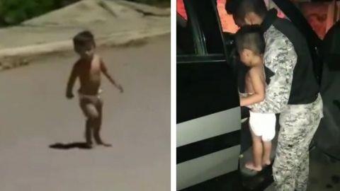 Bebé de 2 años andaba deambulando solo, tardaron más de 12 horas en ir por él
