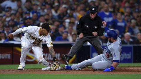 Padres pierde ante Dodgers y desaprovecha el descalabro de Cincinnati