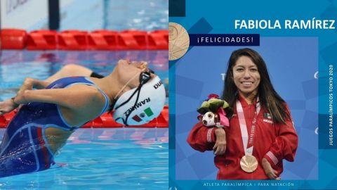 Fabiola Ramírez ganó la primera medalla para México en los Juegos Paralímpicos