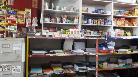 Papelerías reportan bajas ventas de útiles escolares