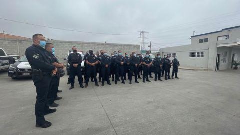 Retoma la policía municipal las calles de Rosarito