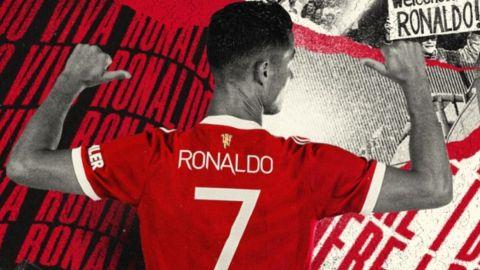 Cristiano Ronaldo jugará con el 7 en el Manchester United