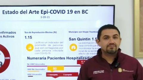 Bajan casos de Covid en Baja California, excepto Mexicali