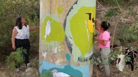Restauran puente de arroyo San Miguel