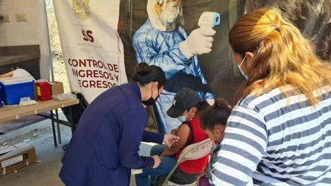 Vacunación anti-covid 19 en Tijuana y Ensenada