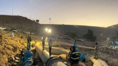 💧 Reinició suministro de agua para Tijuana este jueves