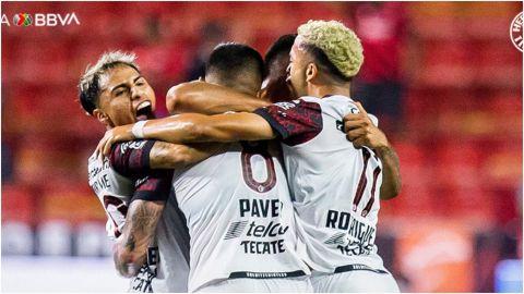 Xolos consigue su primer triunfo en el torneo ante Santos Laguna