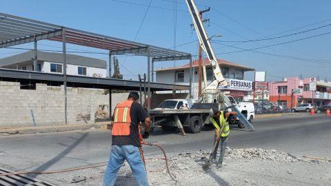 Este lunes empiezan cierre de vialidades por reparaciones en zona comercial