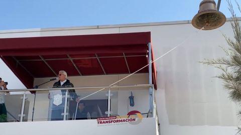 """Bonilla da segundo """"grito de independencia"""" en Tijuana"""