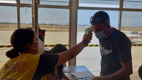 Sanidad internacional aplica protocolos para participantes de Baja 400