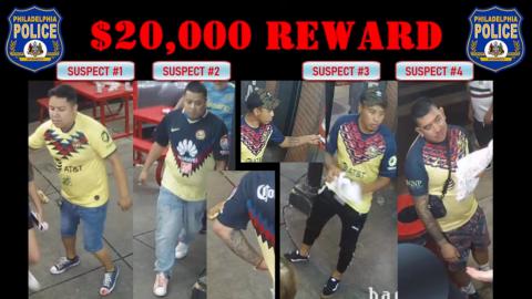 Ellos son los posibles asesinos de aficionado en EU; ofrecen 20 mil dólares