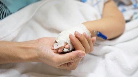 Bebito de 1 año es el único menor hospitalizado por Covid