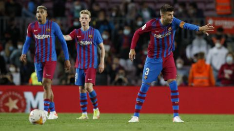 Barcelona se salva en el último minuto; empata a 1 con el Granada