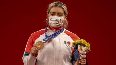 Medallista Aremi Fuentes recibió cheque sin fondos por parte del gobierno de BC