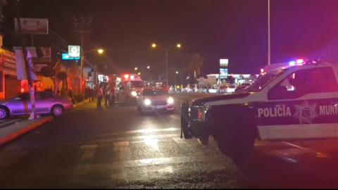 Policías logran abatir a atacante que había disparado a otra persona en Rosarito