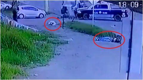 📹 VIDEO: Policía embistió a motociclistas
