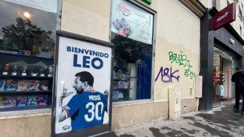 Paris arde con la Messi-Manía