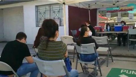 Continúa vacunación en Tijuana y Ensenada
