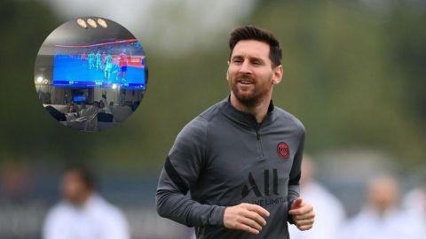 Messi impacta a todos con su televisor-espejo: cómo funciona