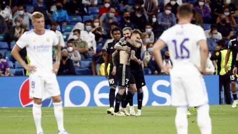 Real Madrid pierde de manera sorpresiva ante el Sheriff en Champions League