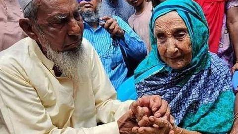 Hombre reencuentra a su madre tras 70 años separados gracias a Facebook