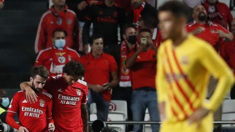 Barcelona es el segundo peor equipo de Champions; ahora lo humilló Benfica