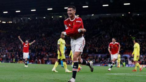 ¡Cristiano otra vez! Anotó de último minuto y salvó al Manchester del ridículo