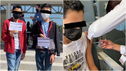 Menores logran ser vacunados contra COVID-19 por amparo en Tijuana
