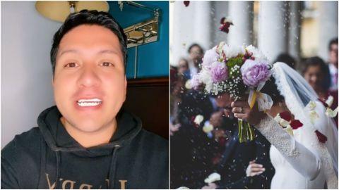 Tiktoker destapa racismo de novia; dividió a invitados por color de piel en boda