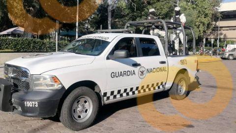 🎥 Repliegan elementos de la Guardia Nacional en Palacio Municipal