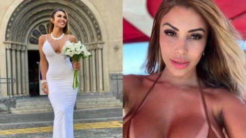 👰♀️ Modelo brasileña se casa consigo misma en un acto de ''amor propio''