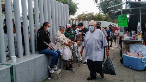 Abarrotada la clínica 27 del Seguro Social; sin medidas sanitarias