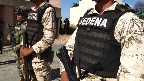 SEDENA destruye plantíos de marihuana en Ensenada
